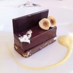 Chocolate com nougatine do Helene Darroze.
