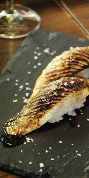 Sushi incomum: sardinha morna do SeaMe, em Lisboa.