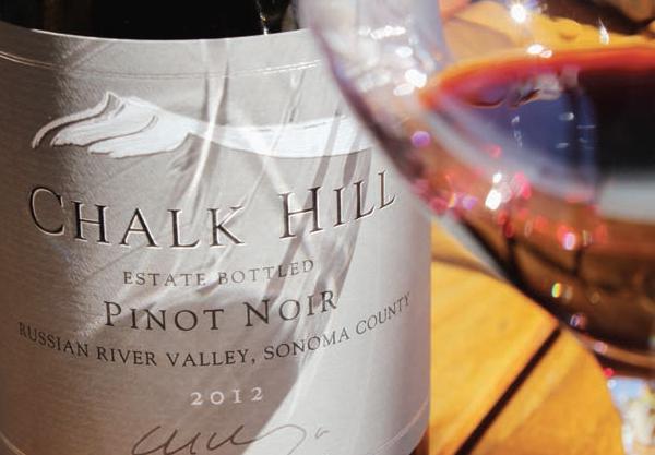 Chalk Hill e o pinot noir de uma das modernas vinícolas de Napa Valley.