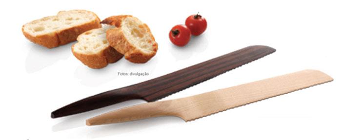 É isso aí. Uma das tendências no design de cozinha é retornar às origens, especialmente na área dos talheres.