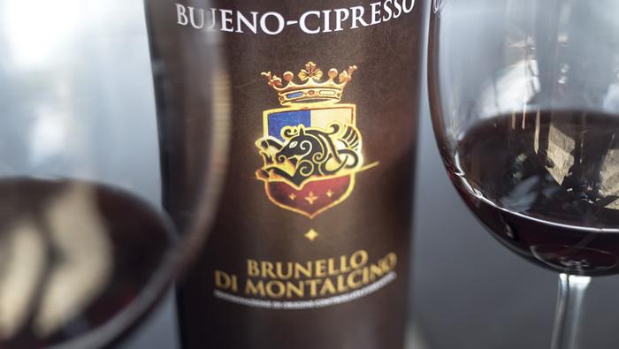 Bueno-Cipresso Brunello di Montalcino, 95 pontos da revista Adega, em 2014.