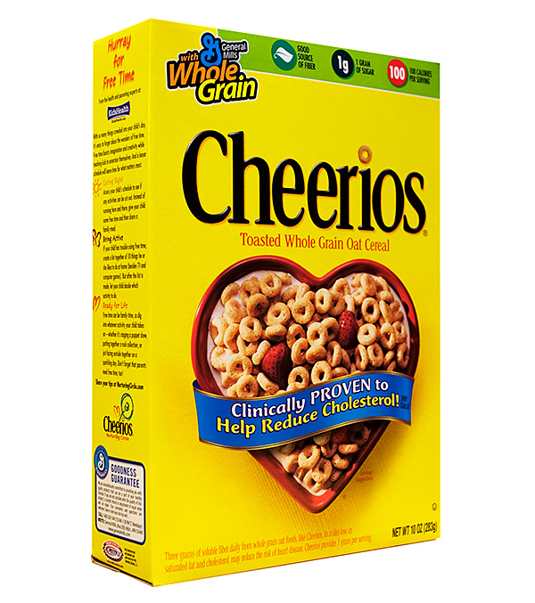 General Mills Cheerioes, as photographed for Wikipedia