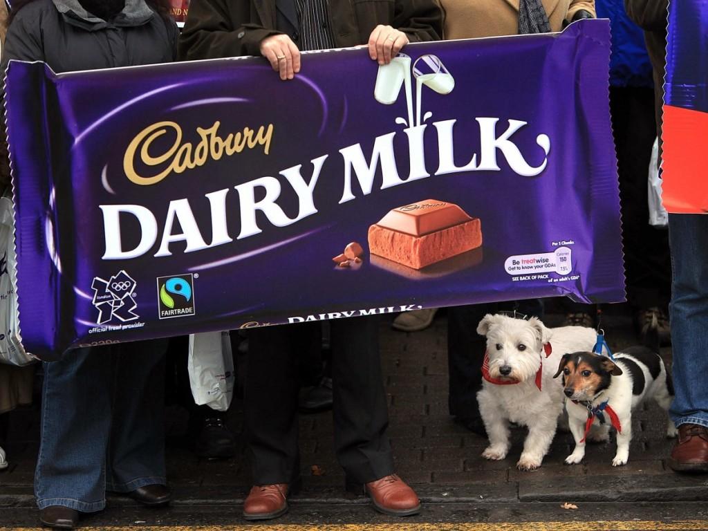 A maior barra de chocolate ... Foto: GettyImages