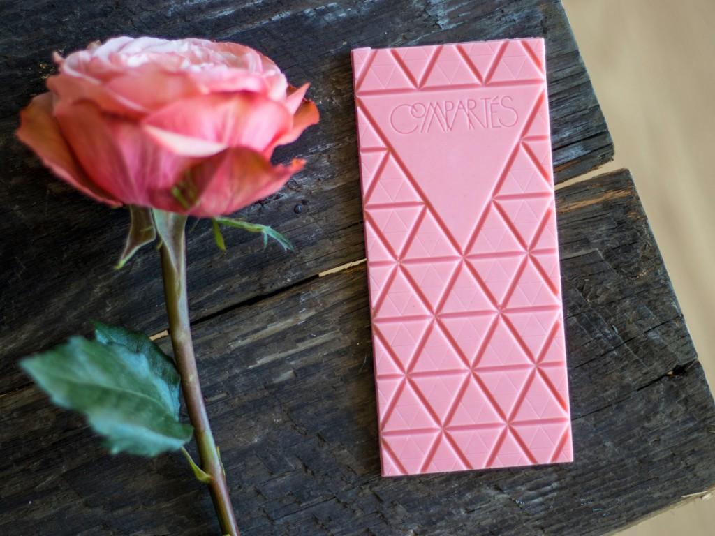 Chocolate sabor de rosas. Foto: divulgação
