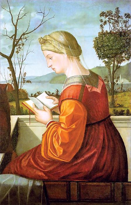 Pintura do veneziano Vittore Carpaccio.